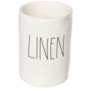 Rae Dunn Linen Candle - 11.4 oz.